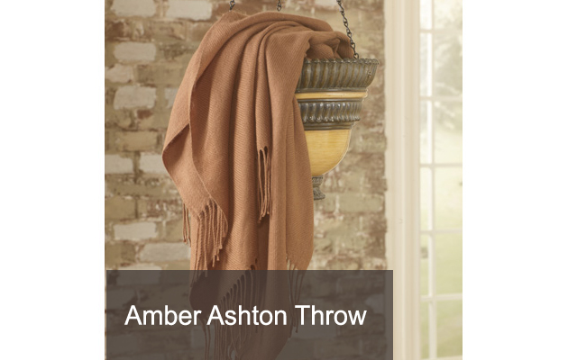 Amber Ashton Throw
